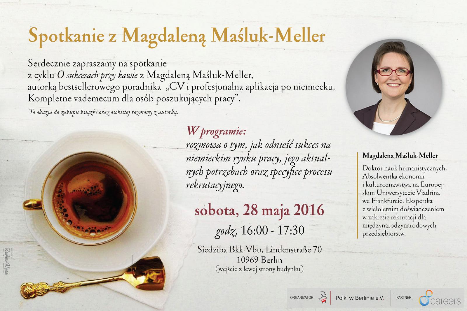 Plakat dla Magdy Maśluk-Meller
